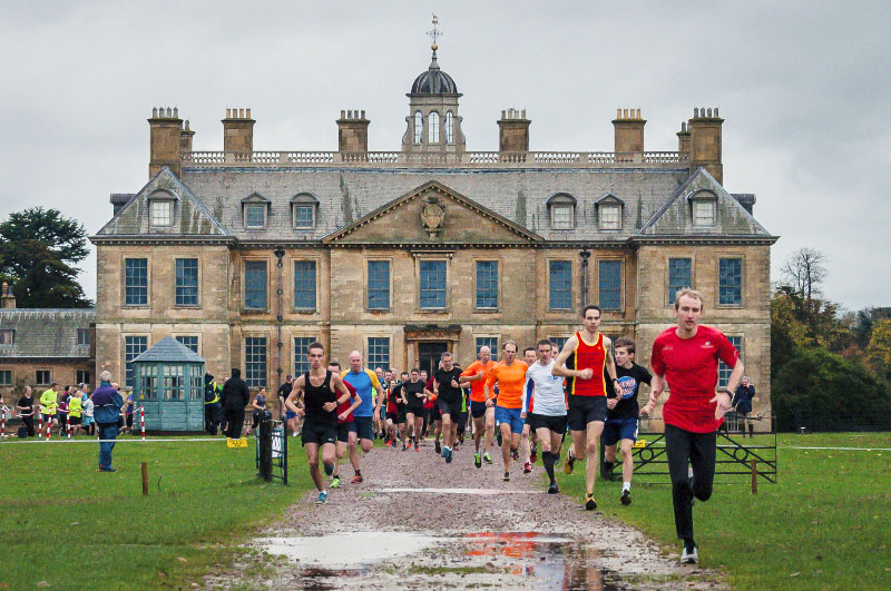 The start of the inaugural Belton House parkrun. Picture Courtesy Graeme Reynolds