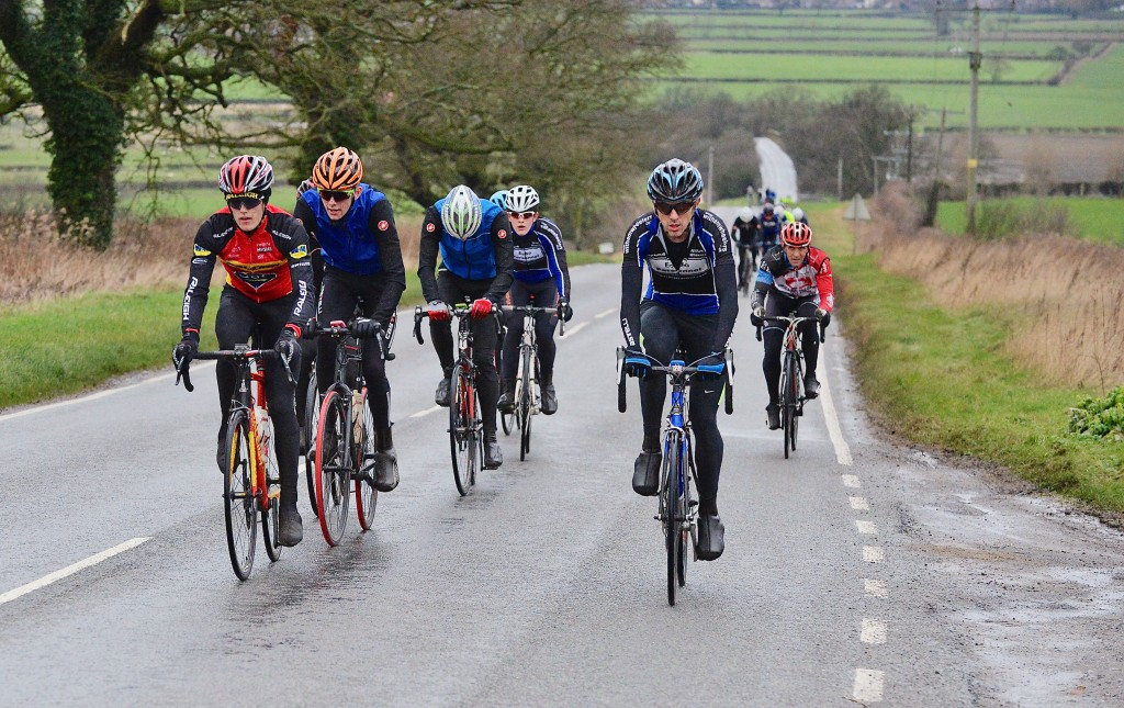 Riding alongside Karl Baille during the Witham Wheelers Reliability Ride #3. Picture c/o and © Alan East