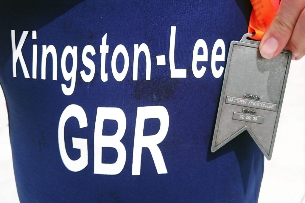 A fine example of prompt medal engraving.