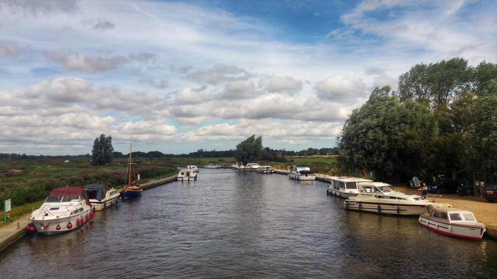 Morning run - River Ant. Norfolk Broads Caravan Club Site, Ludham, Wroxham, Wednesday 3rd August 2016.