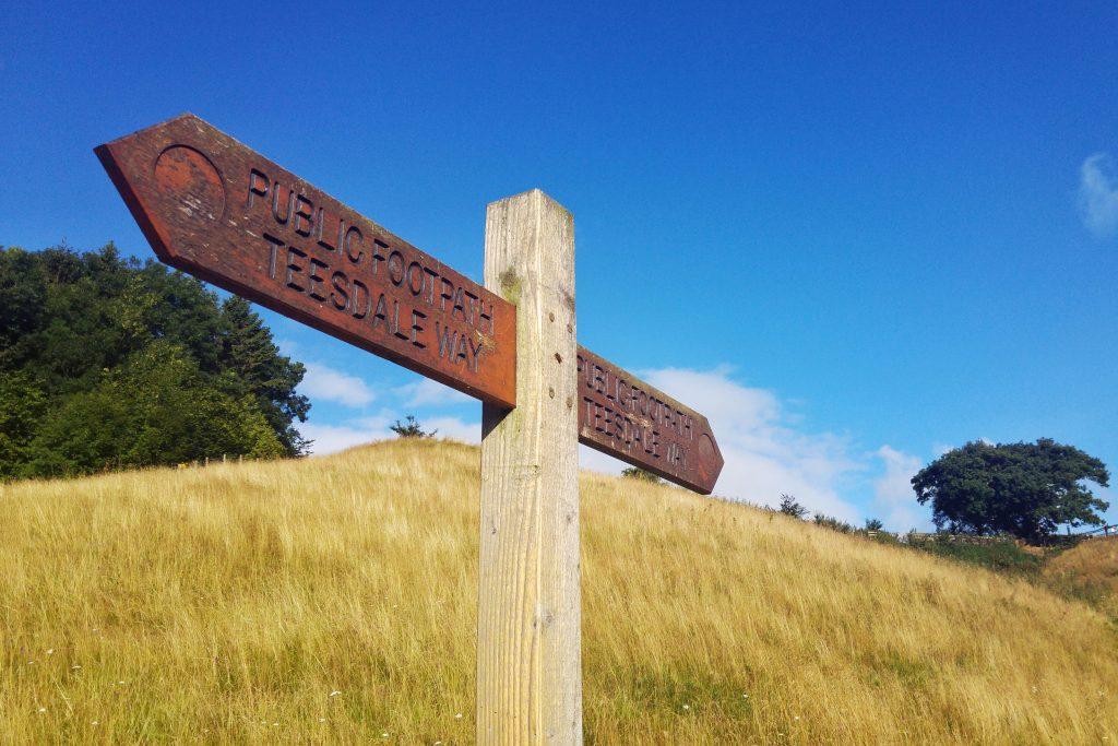 Morning run - Teesdale Way path. Teesdale Barnard Castle Caravan Site, Tuesday 9th August 2016.
