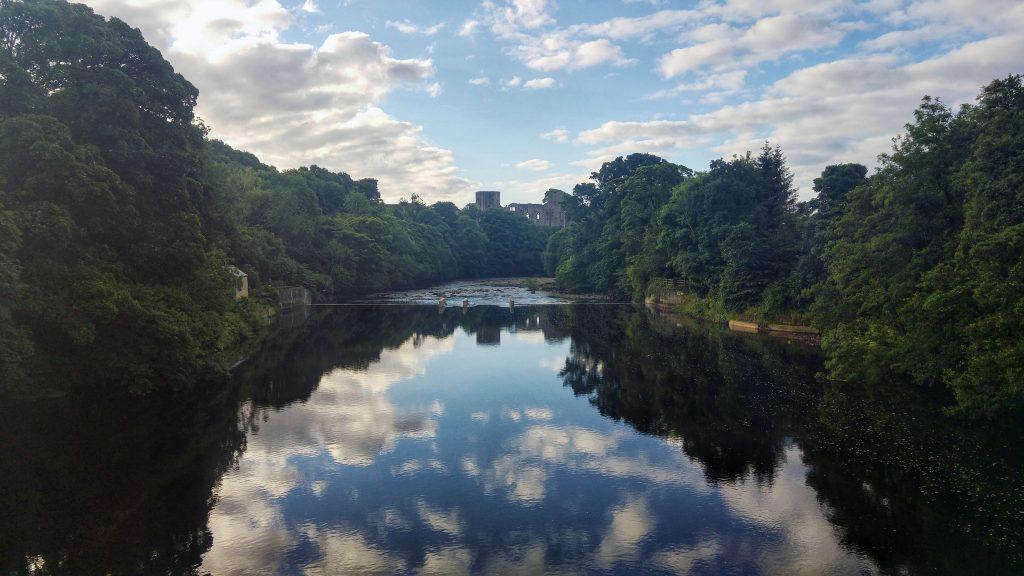 Morning run - Barnard Castle. Teesdale Barnard Castle Caravan Site, Wednesday 10th August 2016.