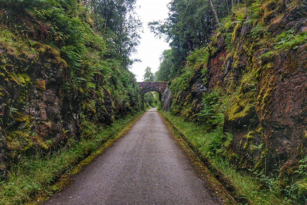 Killin morning run on Cycle Route 7. Killin, Maragowan Caravan Site, Monday 15th August 2016.
