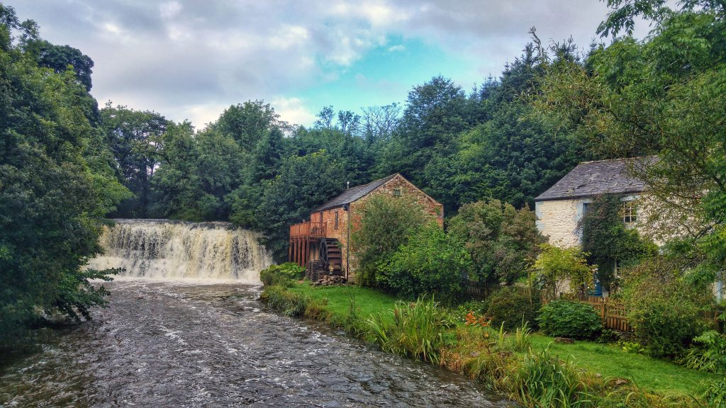 Morning run - Rutter Falls. Wild Rose Caravan Park, Ormside, Appleby-in-Westmorland, Sunday 21st August 2016.
